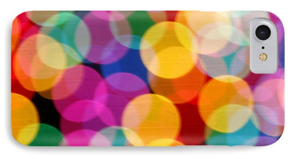 Light Abstract IPhone Case by Tony Cordoza