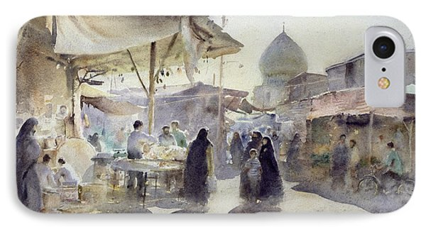 Light And Shade, Shiraz Bazaar, 1994 Wc On Paper IPhone Case