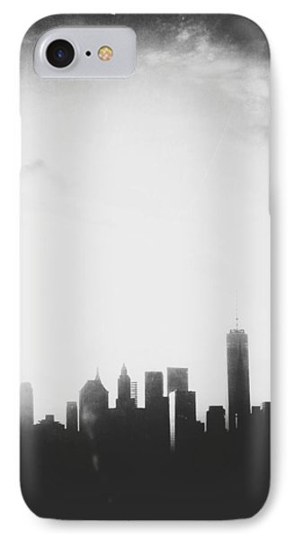 Light And Shadow Shades Of Grey IPhone Case by Natasha Marco