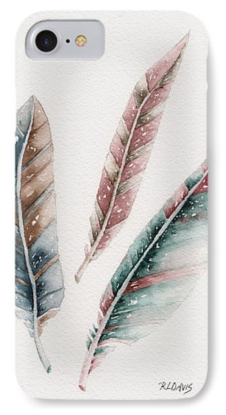 IPhone Case featuring the painting Light As A Feather by Rebecca Davis