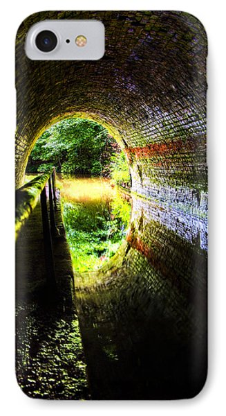 IPhone Case featuring the photograph Light At The End Of The Tunnel by Meirion Matthias