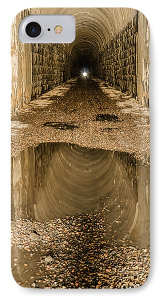 IPhone Case featuring the photograph Light At The End Of The Tunnel by Sue Smith