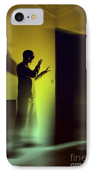 IPhone Case featuring the photograph Light Behind Door by Craig B