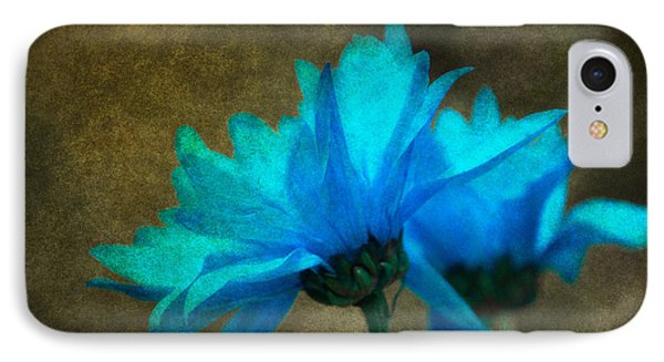Light Blue IPhone Case by Linda Segerson