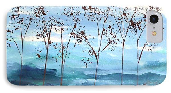 IPhone Case featuring the painting Light Breeze by Linda Bailey