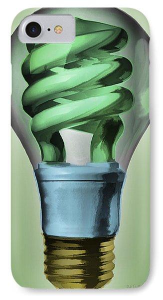 Light Bulb Phone Case by Bob Orsillo
