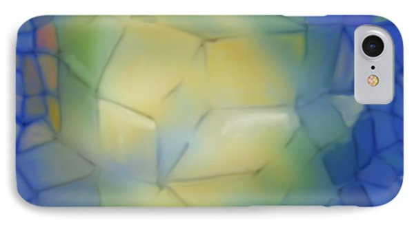 IPhone Case featuring the digital art Light Cubes Away by Constance Krejci