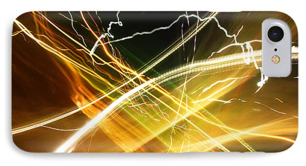 Light Curves 3 IPhone Case