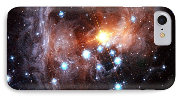 Light Echo Around Star V838 Monocerotis Phone Case by Science Source