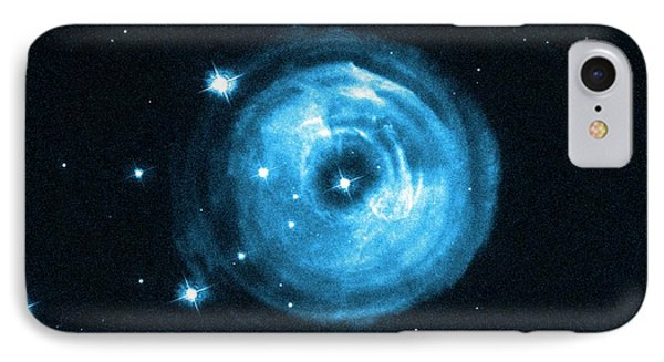 Light Echoes From Exploding Star IPhone Case by Nasa, Esa And H.e. Bond (stsci)