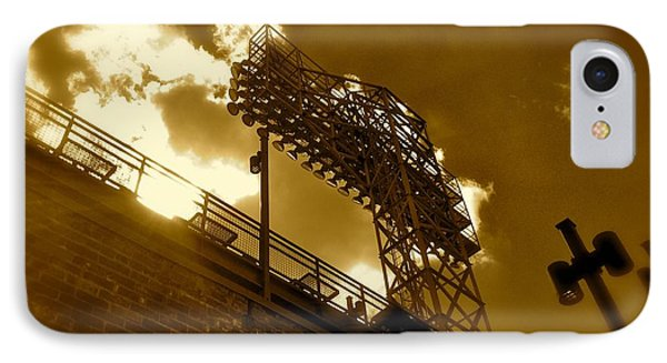 Light  Fenway Park IPhone Case by Iconic Images Art Gallery David Pucciarelli