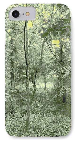 IPhone Case featuring the photograph Light Forest Scene by Tom Wurl