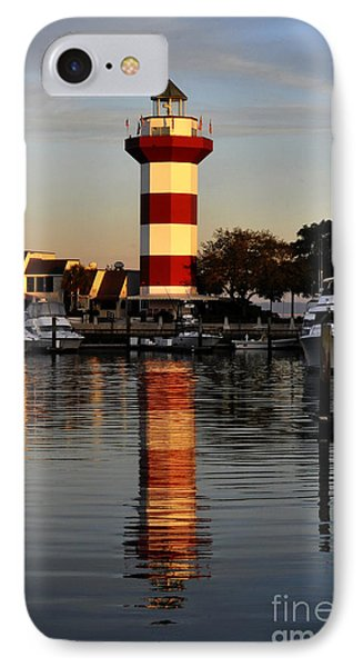 Light House At Harbour Town Phone Case by Dan Friend