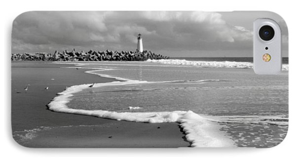 IPhone Case featuring the photograph Santa Cruz - Light House by Haleh Mahbod
