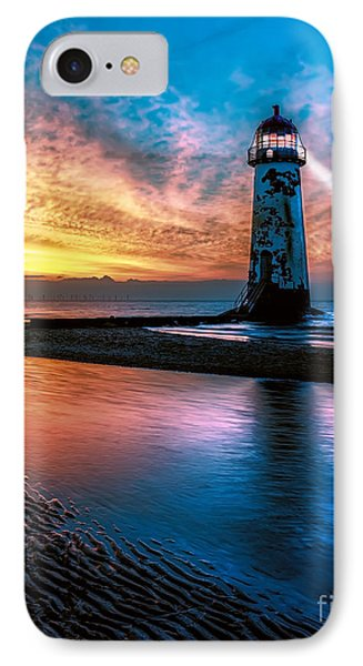 Light House Sunset IPhone Case