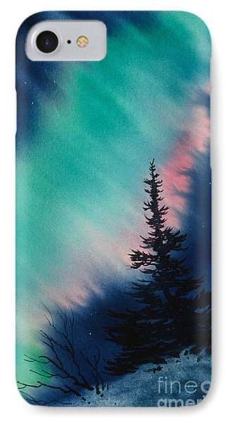 Light In The Dark Of Night IPhone Case by Teresa Ascone