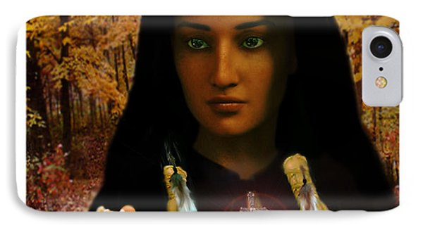 IPhone Case featuring the painting Saint Kateri Tekakwitha Light In The Darkness by Suzanne Silvir