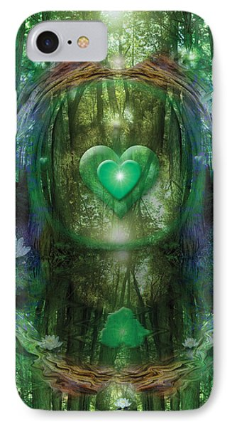 Light In The Forest Phone Case by Alixandra Mullins