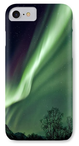 Light In The Sky IPhone Case by Dave Bowman