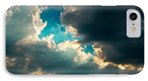 Light In The Storm IPhone Case