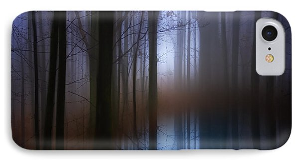 Light In The Woods IPhone Case by Ron Jones