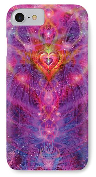 Light Of Passion Reborn Phone Case by Alixandra Mullins