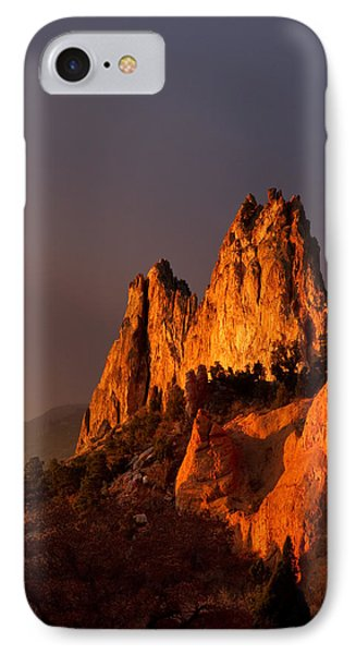 IPhone Case featuring the photograph Light On The Rocks by Ronda Kimbrow