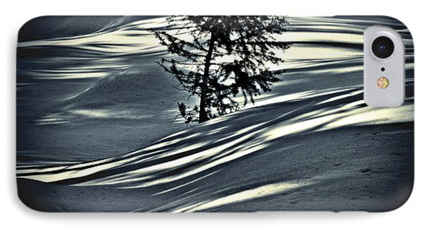 IPhone Case featuring the photograph Light On The Snow by Janie Johnson