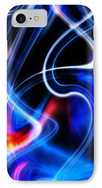 IPhone Case featuring the digital art Light Orgasmic by Selke Boris