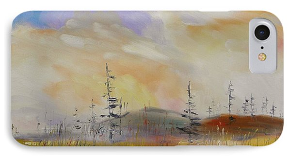 Light Over The Marsh IPhone Case by John Williams