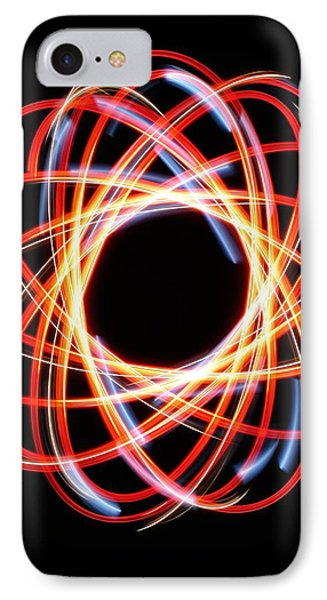 Light Patterns 002 IPhone Case by Todd Soderstrom