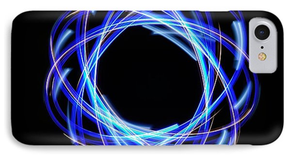 Light Patterns 003 IPhone Case by Todd Soderstrom