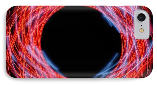 Light Patterns 005 IPhone Case by Todd Soderstrom