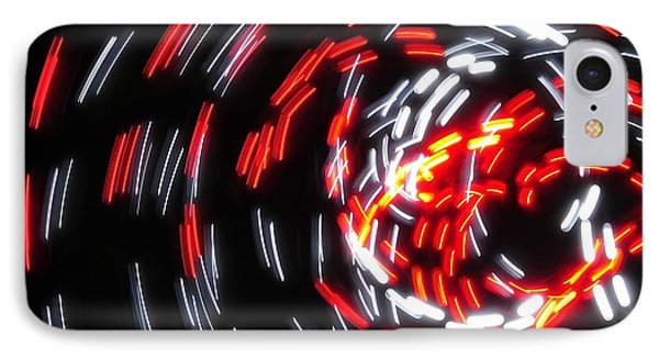 Light Patterns 008 IPhone Case by Todd Soderstrom