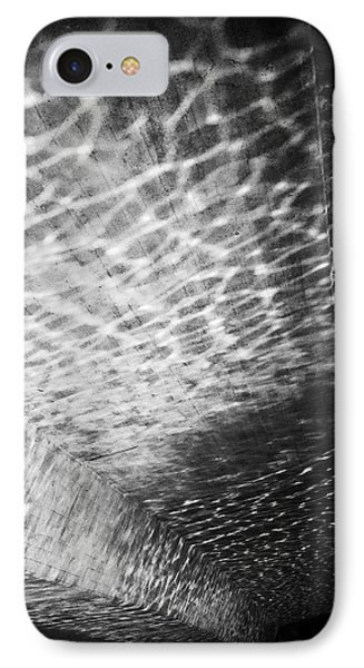 Light Reflections Black And White IPhone Case by Matthias Hauser