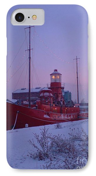 IPhone Case featuring the photograph Light Ship by John Williams