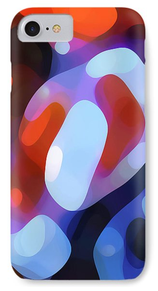 Light Through Fall Leaves IPhone Case by Amy Vangsgard