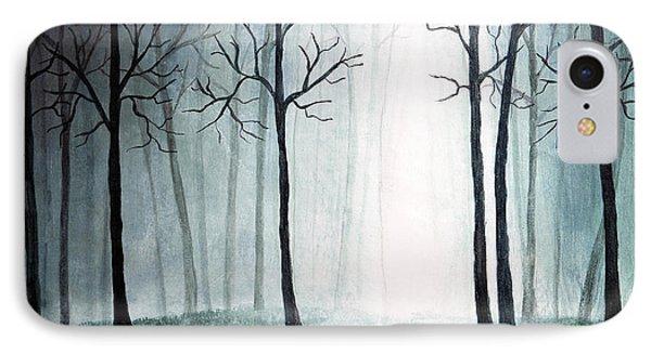 Light Through The Forest Phone Case by Nirdesha Munasinghe