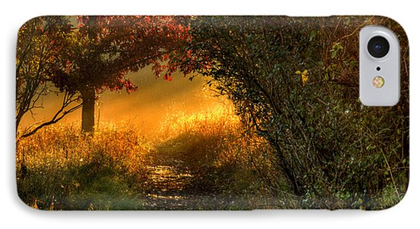 Lighted Path Phone Case by Thomas Young