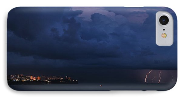 Lightening IPhone Case by Erhan OZBIYIK