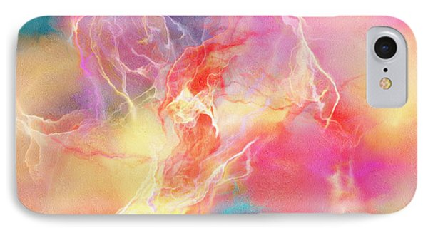 Lighthearted - Abstract Art IPhone Case by Jaison Cianelli