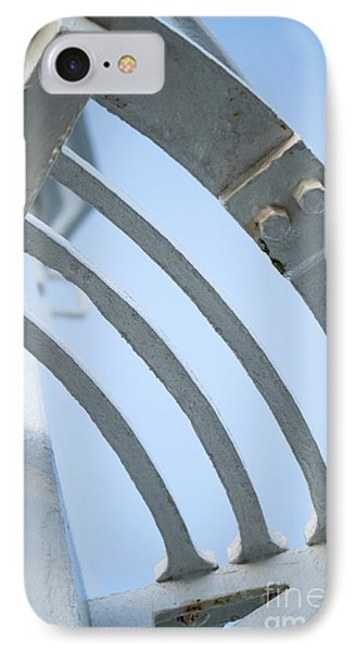 Lighthouse Abstract IPhone Case by Anne Gilbert