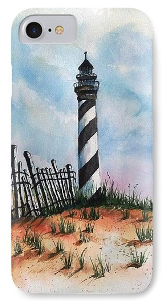 Lighthouse And Fence IPhone Case