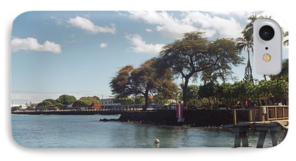 Lighthouse At A Pier, Lahaina, Maui IPhone Case by Panoramic Images