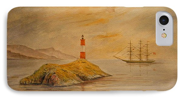 Lighthouse At Cornwall IPhone Case