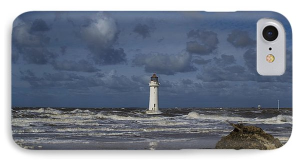 lighthouse at New Brighton IPhone Case
