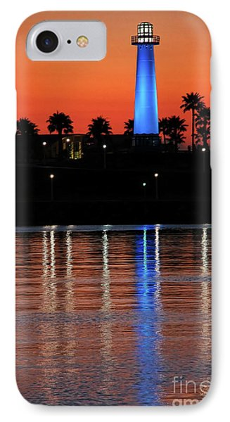 Lighthouse At Queensway Bay Phone Case by Mariola Bitner