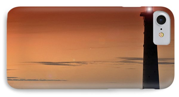 IPhone Case featuring the photograph Lighthouse At Sunrise by Julis Simo