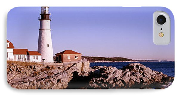 Lighthouse At The Coast, Portland Head IPhone Case