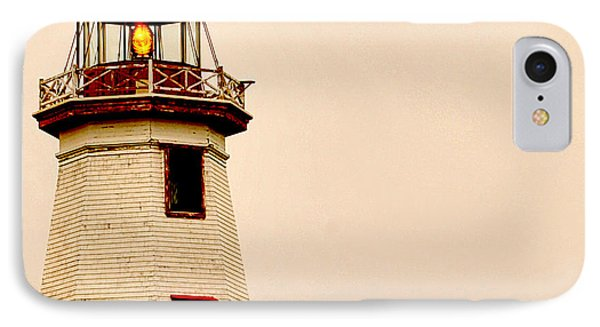 Lighthouse Beam IPhone Case by Steve Archbold